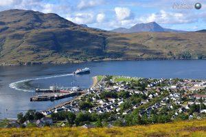 Calmac ferry Loch Seaforth