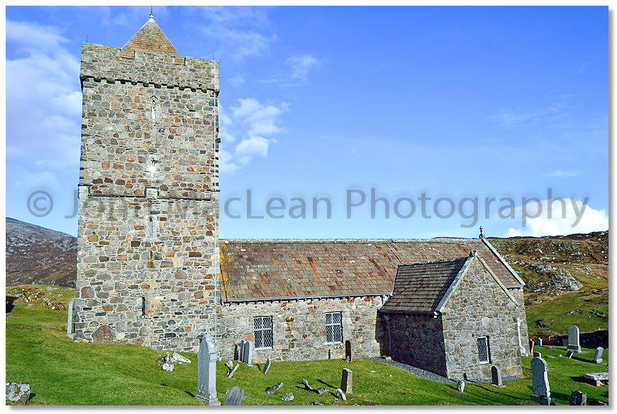 St Clement's Church, Rodel, Harris | Photographer John ...